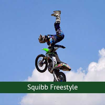 Jamie Sqibb Freestyle Motorcross