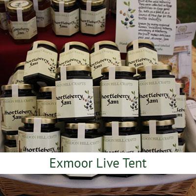 Exmoor Live Tent