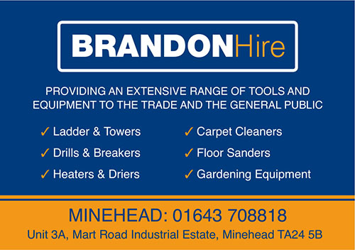 Brandon Tool Hire Advert